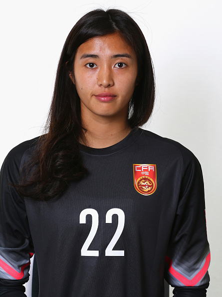 EDMONTON, AB - JUNE 03:  Zhao Lina #22 of China during the FIFA Women's World Cup 2015 portrait session at the Delta Edmonton South on June 3, 2015 in Edmonton, Canada.  (Photo by Maddie Meyer - FIFA/FIFA via Getty Images)