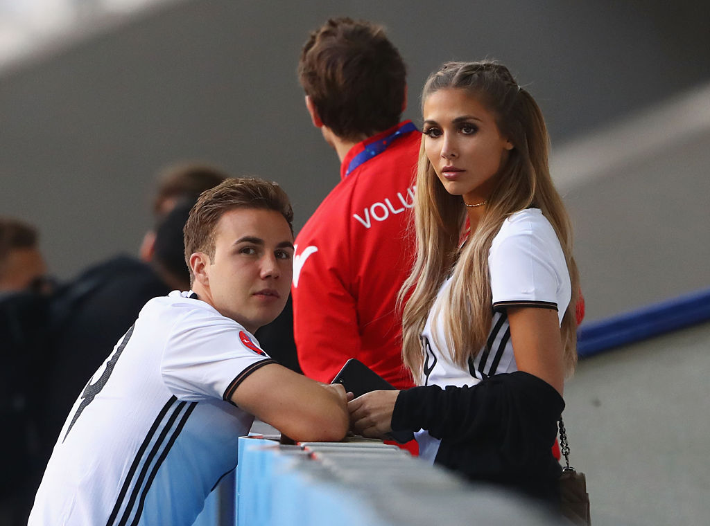 during the UEFA EURO 2016 round of 16 match between Germany and Slovakia at Stade Pierre-Mauroy on June 26, 2016 in Lille, France.