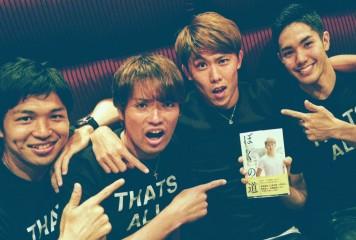 太田宏介がFC東京のホームゲームに来場 自著『ぼくの道』発売イベントに参加