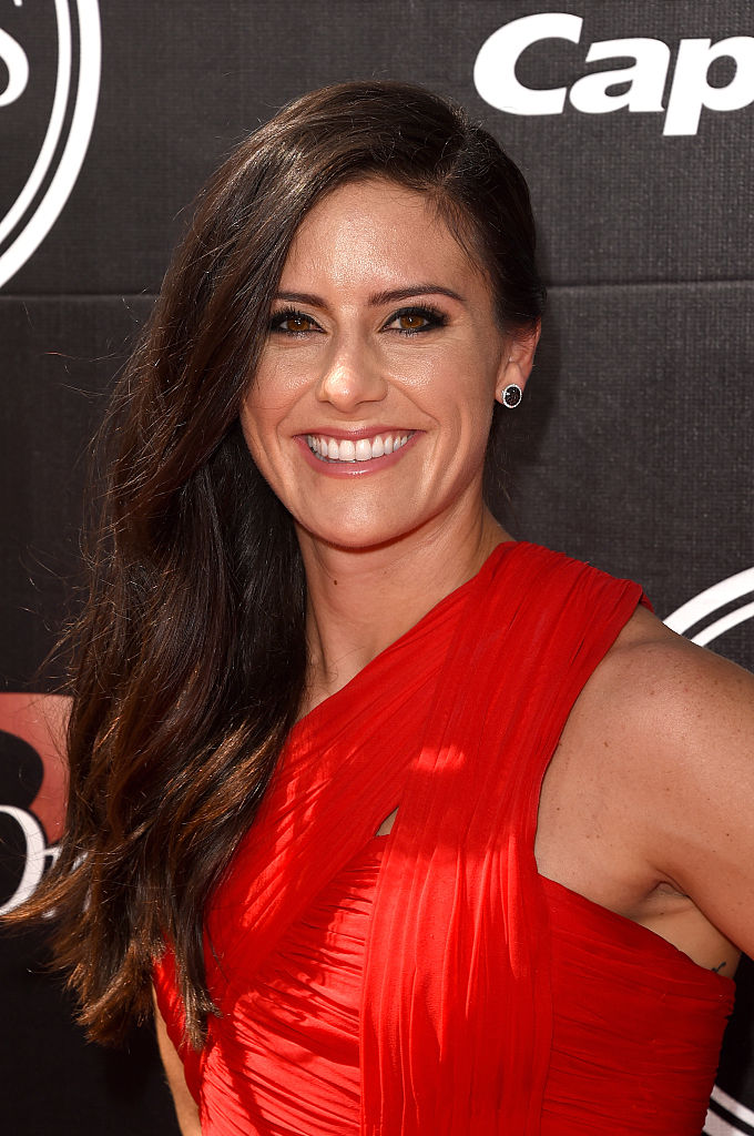 LOS ANGELES, CA - JULY 15:  Professional soccer player Ali Krieger attends The 2015 ESPYS at Microsoft Theater on July 15, 2015 in Los Angeles, California.  (Photo by Jason Merritt/Getty Images)
