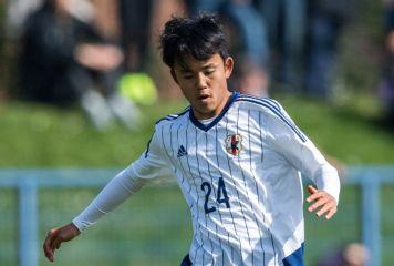 15歳久保がアシスト! 華麗な連携で堂安のゴール演出、日本が南アに2-1と逆転