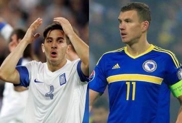 済州の蛮行を彷彿させる暴行事件勃発! W杯欧州予選、ボスニアとギリシャが流血乱闘
