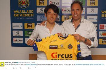 元日本代表MF森岡、ベルギー1部ベベレンに移籍決定 3年契約で背番号44番、