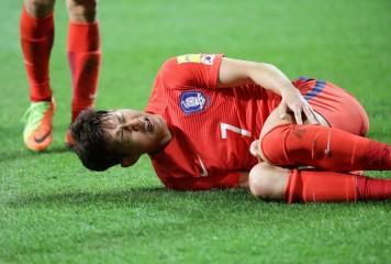 W杯出場に暗雲の韓国代表に激震! エースFWソン・フンミンが右腕骨折か