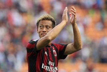 本田の惜別FK弾、ミラン月間ベストゴールに選出! 本人も驚き「このゴールがなるとは…」