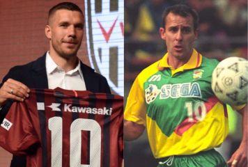 ポドルスキで歴代9人目の「ドイツ人Jリーガー」 日本人選手の模範となった偉大な先人たち