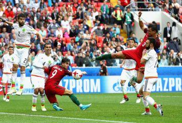 ポルトガルが劇的同点弾&PKの悪夢払拭! メキシコを2-1で破りコンフェデ杯3位に輝く