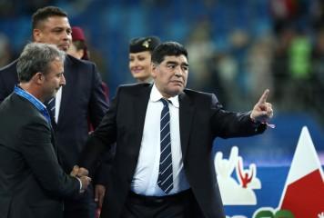 サッカー界の問題児がまたも… ロシア訪問のマラドーナがセクハラ疑惑で告発