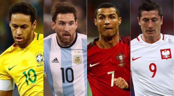 現代版「世界選抜vs欧州選抜」がもし開催されたら… 夢の超豪華メンバーを英紙選出