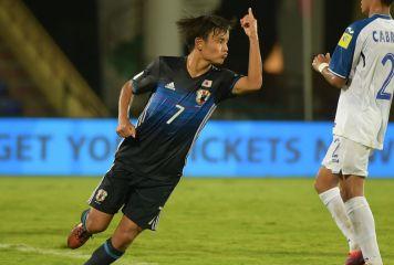 U-17W杯、3得点に絡んだ久保建英をインド紙称賛「クボのマジック」「才能を見せつけた」
