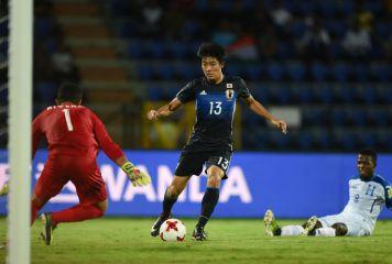 U-17W杯初戦、日本がホンジュラスに6-1完勝 中村が3発、久保も3得点に絡む活躍