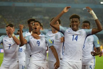 U-17W杯初優勝に王手! 16強で日本に勝利のイングランド、王国ブラジルを3-1撃破