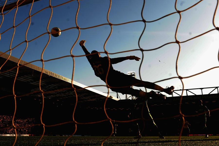 徳島DF内田、CKからサインプレーで左足豪快弾を決めてチームも今季初勝利(写真はイメージ)【写真:Getty Images】