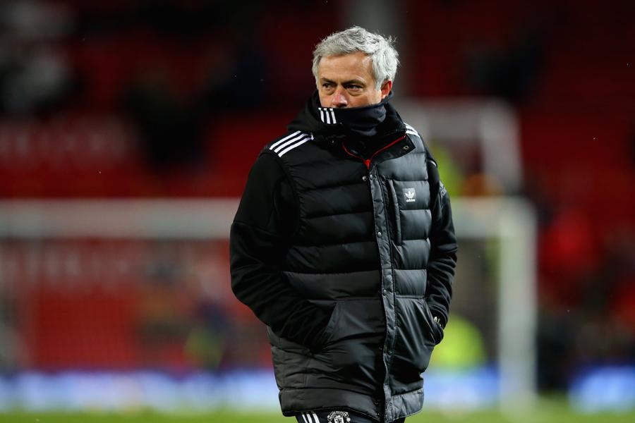 モウリーニョ監督、FAカップ4強進出も消極的姿勢に不満【写真:Getty Images】