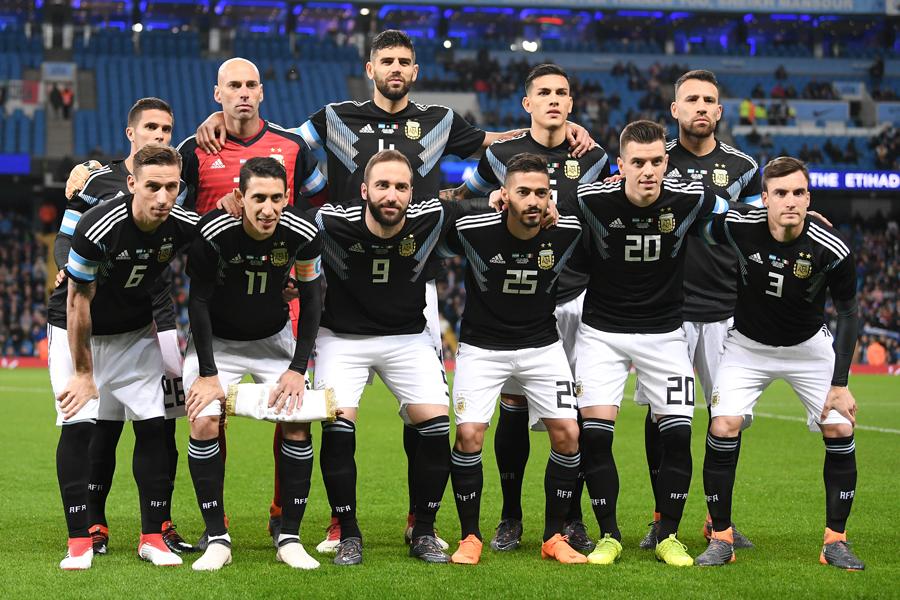 """エース不在のアルゼンチン代表が、""""新生""""イタリアに2-0快勝【写真:Getty Images】"""