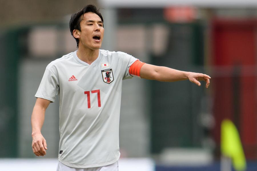 日本代表キャプテンのMF長谷部誠【写真:Getty Images】