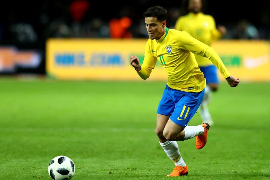 ブラジル代表のコウチーニョ【写真:Getty Images】