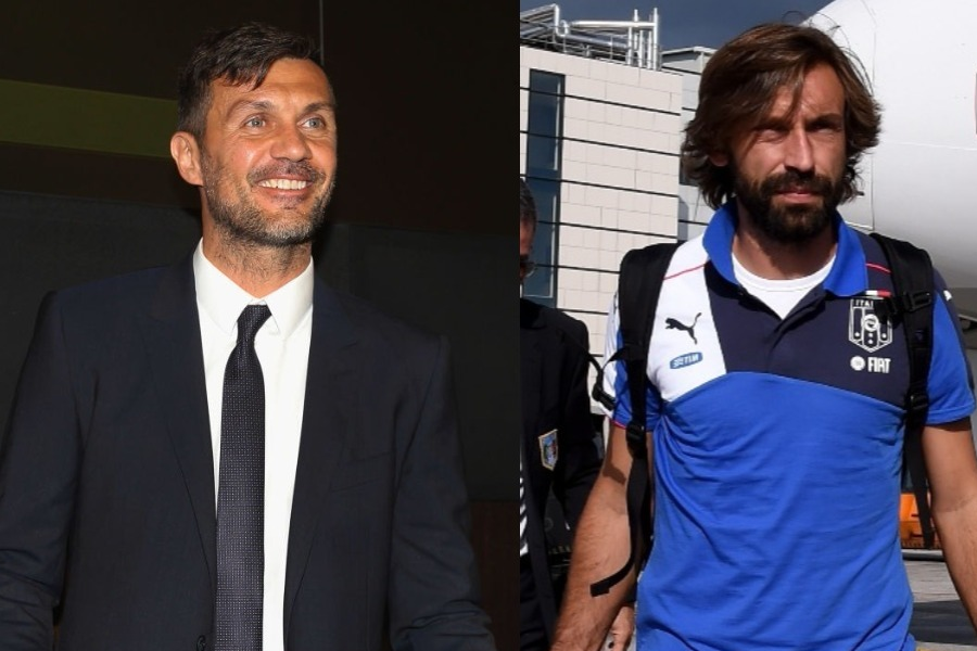 イタリアサッカーの立て直しに向けて連盟入りが噂されるマルディーニとピルロ【写真:Getty Images】
