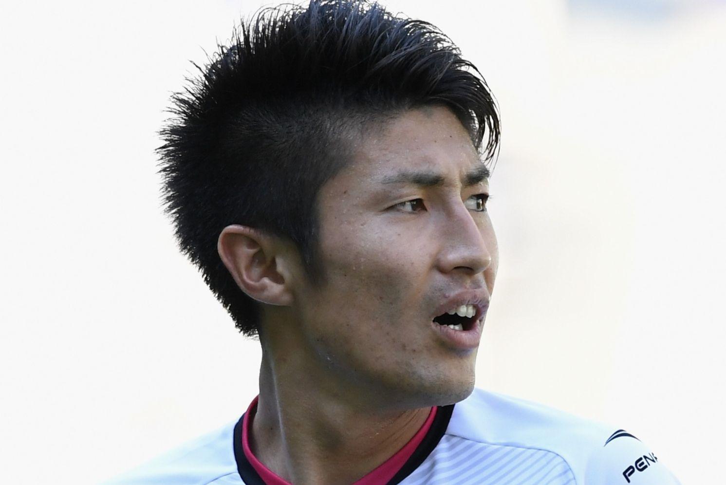 オイペンのFW豊川雄太は後半12分から途中出場、3得点1アシストとチームを逆転残留に導く出色のパフォーマンスを見せた【写真:Getty Images】