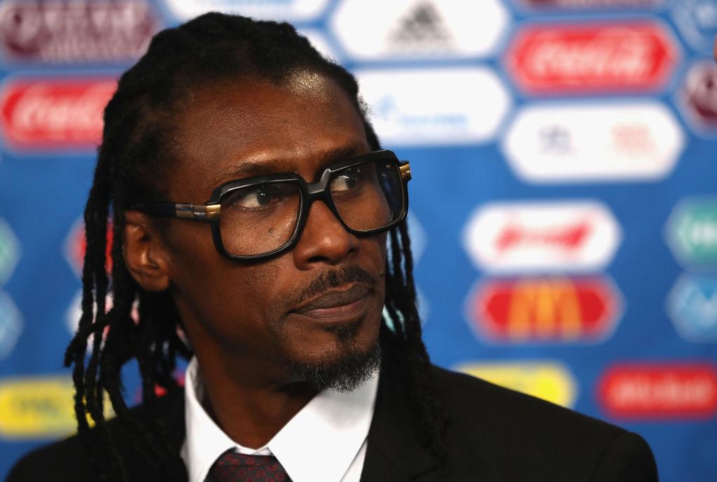 セネガル代表のアリウ・シセ監督【写真:Getty Images】