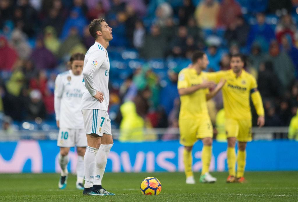 今季、リーグ戦で首位バルセロナから遅れをとるなど苦しいシーズンを過ごしているレアル・マドリード【写真:Getty Images】