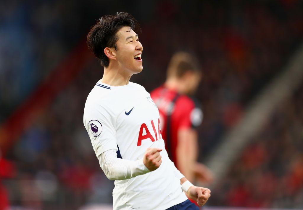 トットナムの韓国代表FWソン・フンミンは今季公式戦43試合に出場して18得点を決めるなど、チームの主軸として躍動している【写真:Getty Images】