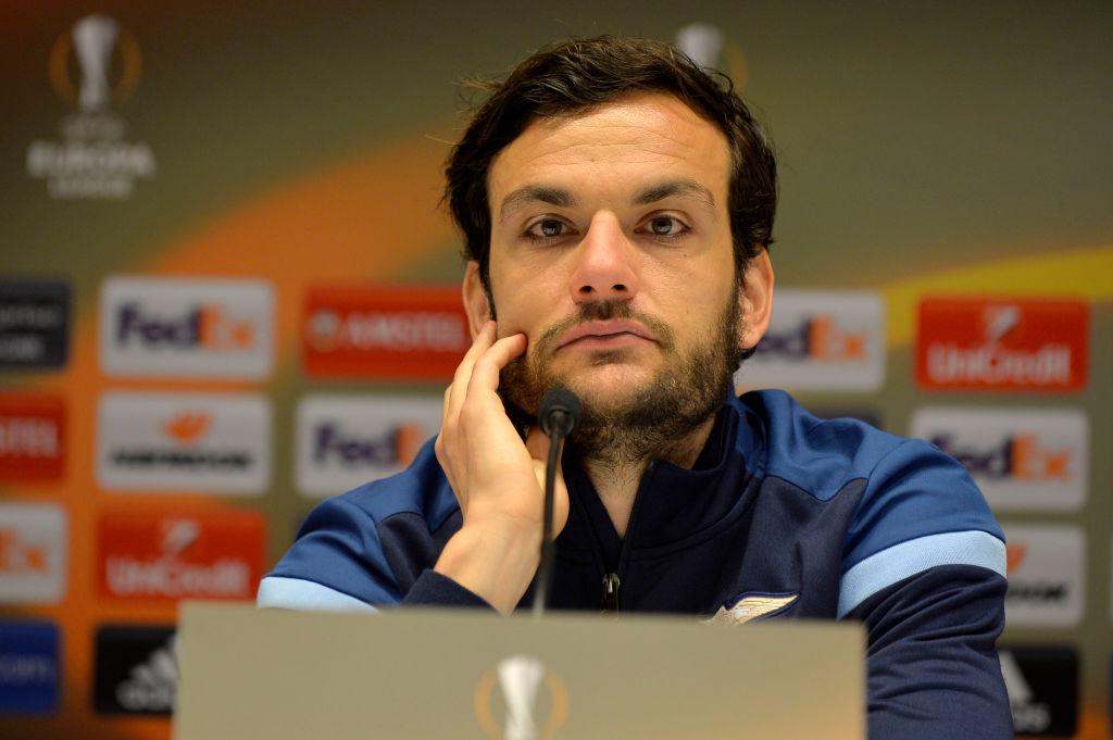 ラツィオに所属するイタリアのMFマルコ・パローロ【写真:Getty Images】