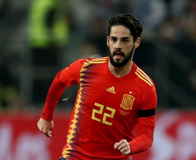 スペイン代表で輝くイスコ、レアルでの不遇に本音【写真:Getty Images】