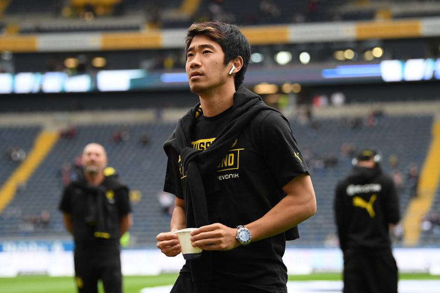 英2クラブに移籍の噂が浮上しているドルトムントの日本代表MF香川真司【写真:Getty Images】