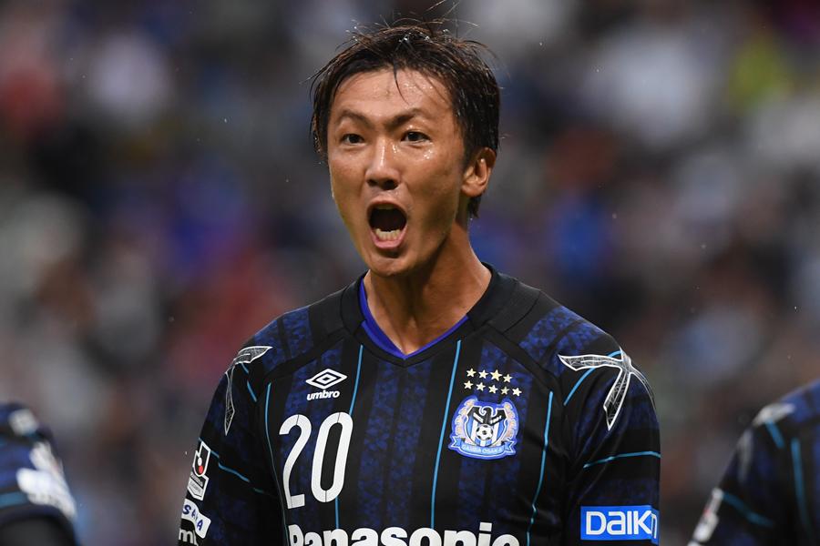 G大阪の長沢、ルヴァン杯名古屋戦で4ゴールと爆発【写真:Getty Images】