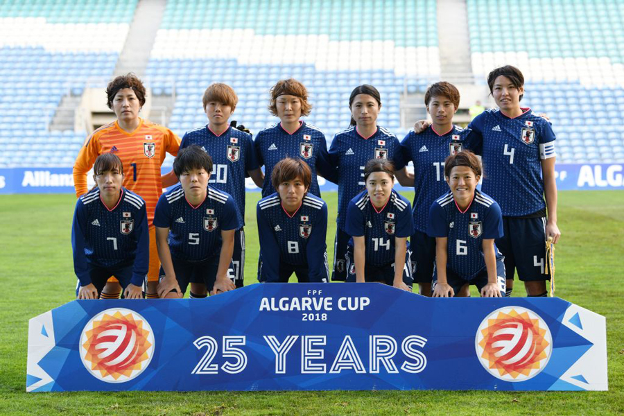 なでしこジャパンは、8大会連続のW杯出場を目指す【写真:Getty Images】