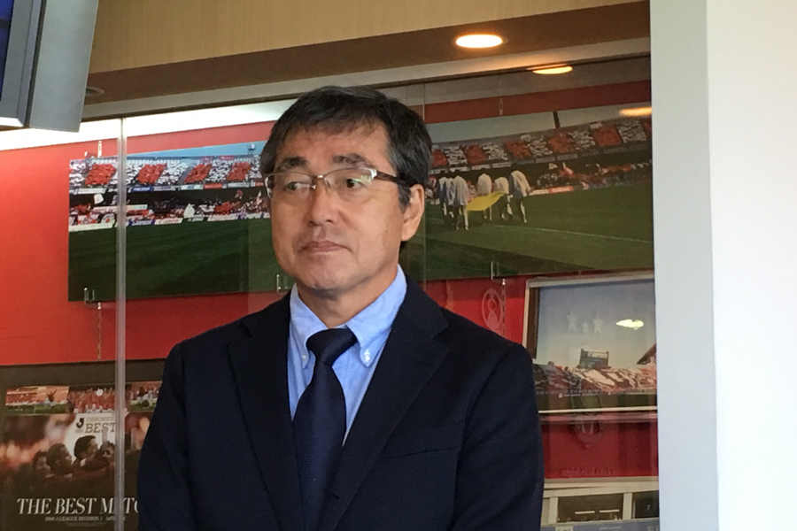 8年ぶりに帰還した中村GMが抱負を語る【写真:Football ZONE web】