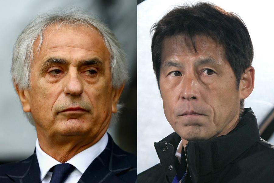 日本サッカー協会は9日、ハリル監督を解任し西野氏の後任監督就任を発表【写真:Getty Images】