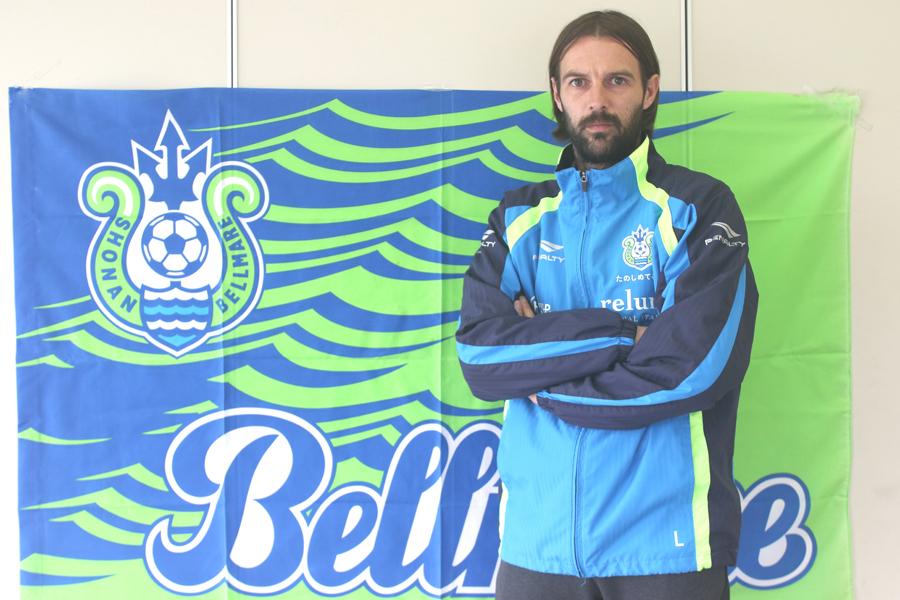 今季湘南ベルマーレへ新加入したミキッチ【写真:Football ZONE web】