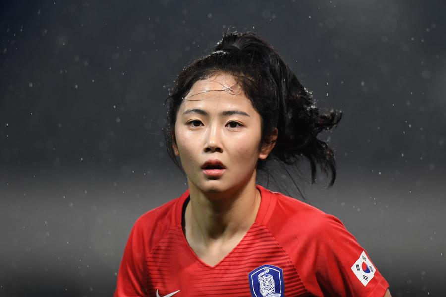 今年からINAC神戸でプレーする韓国代表MFイ・ミナ【写真:Getty Images】