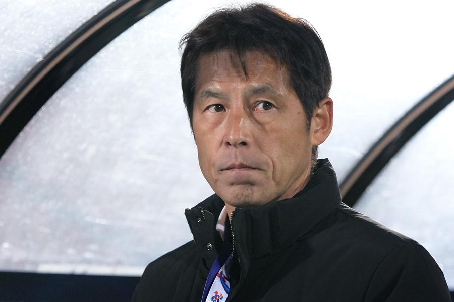 日本代表の新指揮官に就任した西野氏【写真:Getty Images】