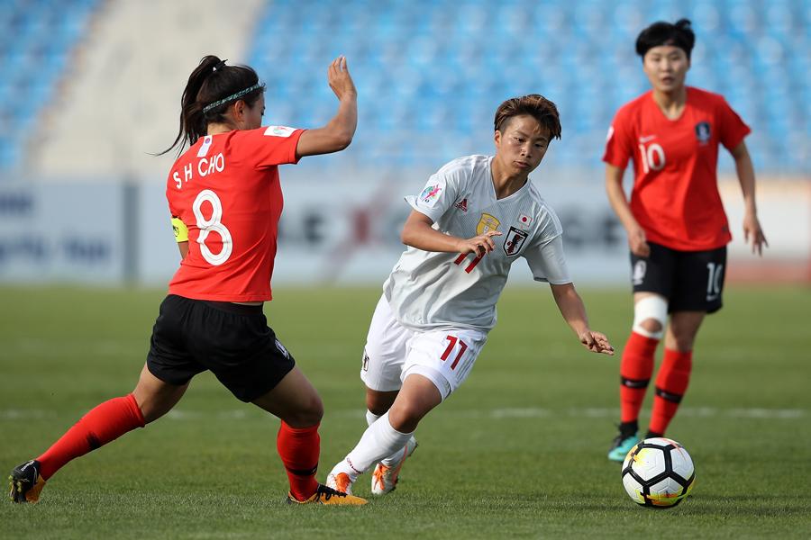 なでしこJ、アジア杯日韓戦0-0ドロー【写真:Getty Images】