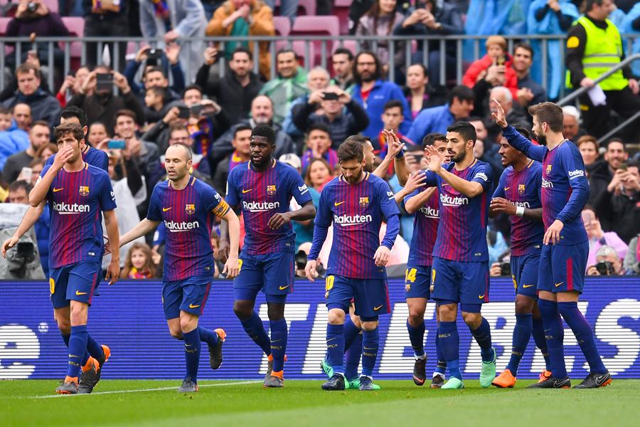 バルセロナがリーガ連続無敗記録を歴代最長となる39試合に更新【写真:Getty Images】