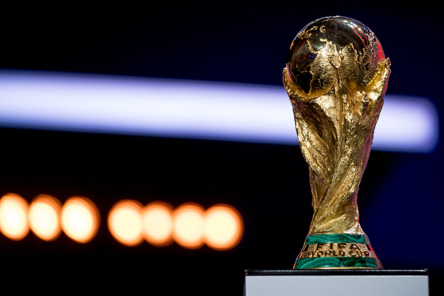 W杯トロフィ【写真:Getty Images】