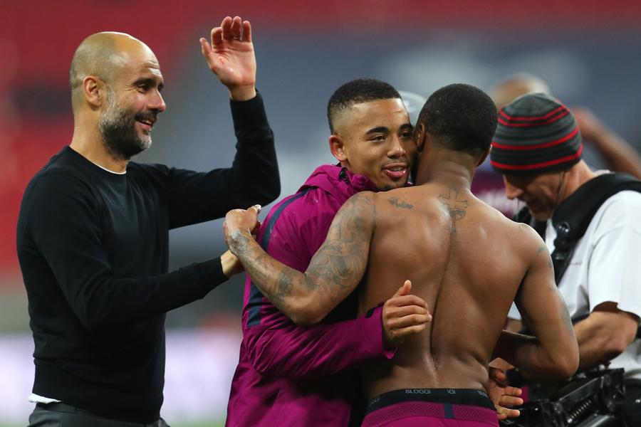 2017-18シーズンのプレミアリーグは、5試合を残してマンチェスター・シティの優勝が決まった【写真:Getty Images】