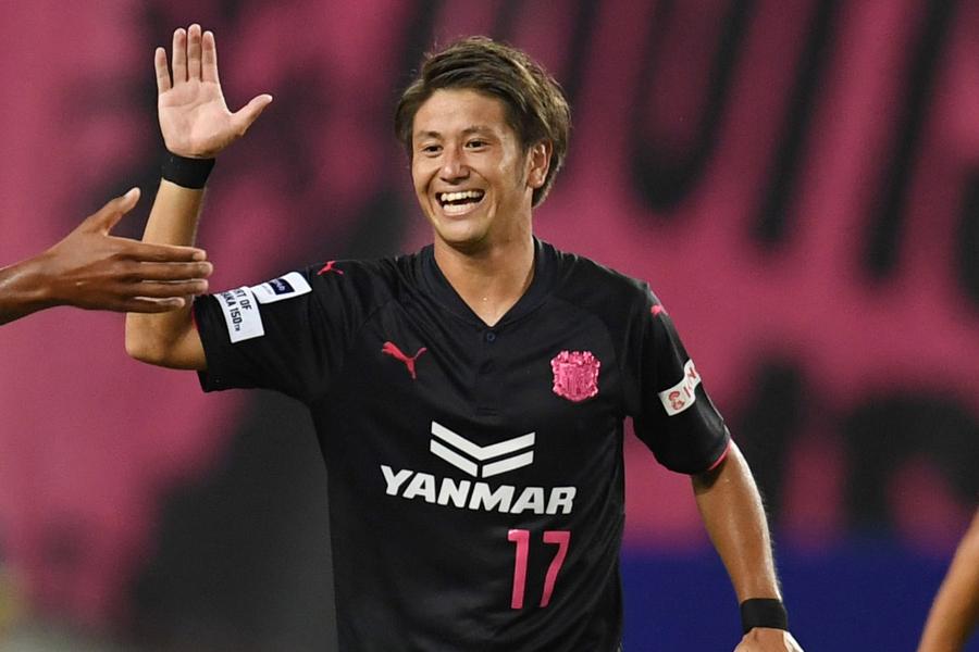 C大阪MF福満は、ACL初ゴールで国内全ての主要大会で得点を記録したことになる【写真:Getty Images】