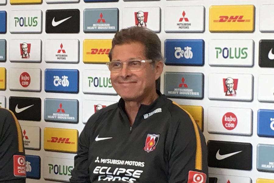 浦和の新監督に就任したオリヴェイラ氏【写真:Football ZONE web】