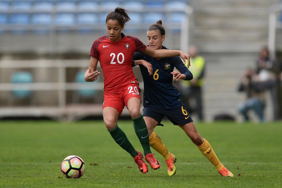 レバンテに所属するポルトガル女子代表の23歳FWジェシカ・シルバ、またも華麗な技で話題に【写真:Getty Images】
