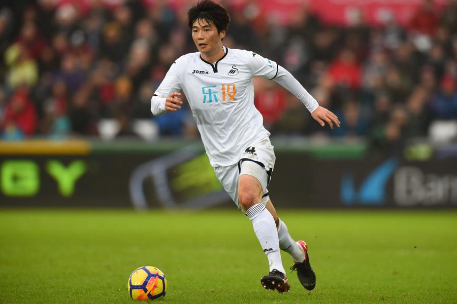 ACミランは、目指していたスウォンジーの韓国代表MFキ・ソンヨン獲得を見送ったという【写真:Getty Images】