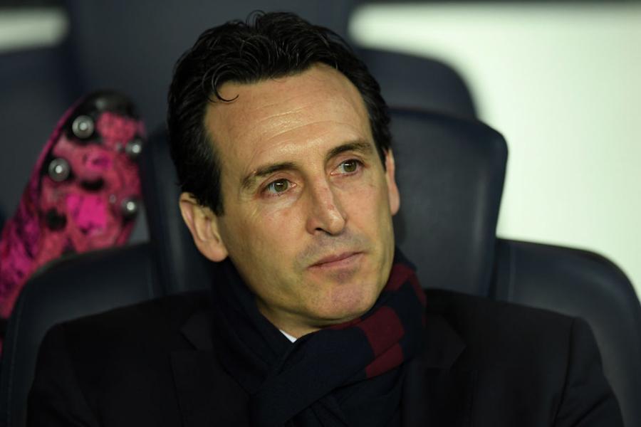 PSGは、エメリ監督の今季限りでの退任を発表した【写真:Getty Images】