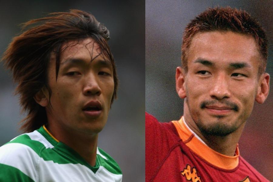 英誌が選出した「歴代アジア人選手ベスト7」に、中村俊輔と中田英寿氏が選ばれた【写真:Getty Images】