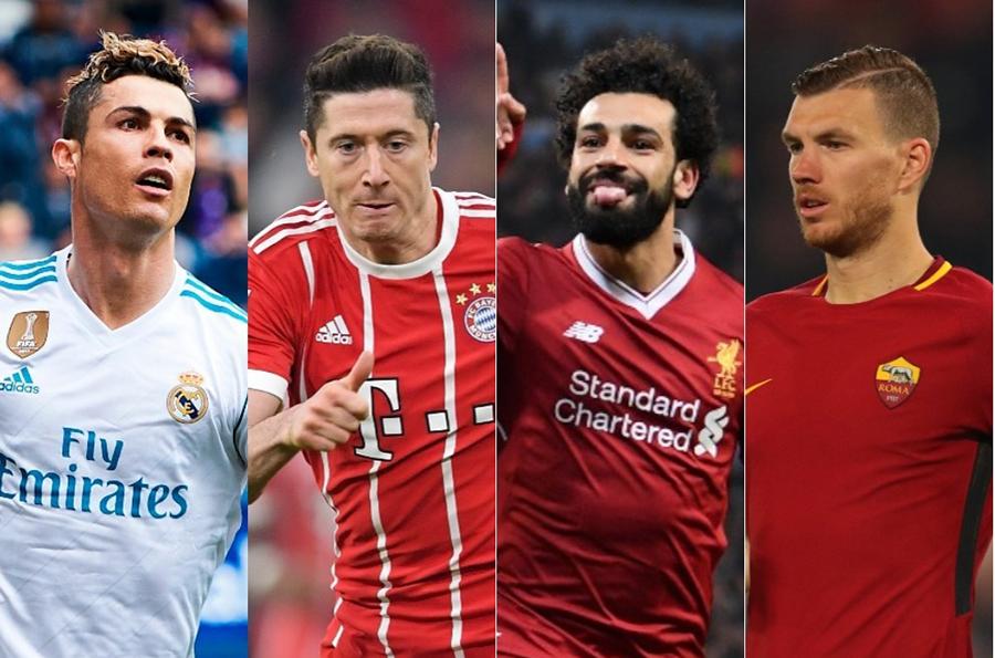 UEFAチャンピオンズリーグ(CL)前人未到の3連覇を狙うレアル・マドリードを筆頭に、バイエルン・ミュンヘン、リバプール、ローマという顔ぶれに【写真:Getty Images】