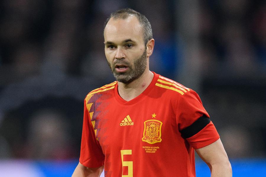 スペイン代表MFイニエスタ【写真:Getty Images】