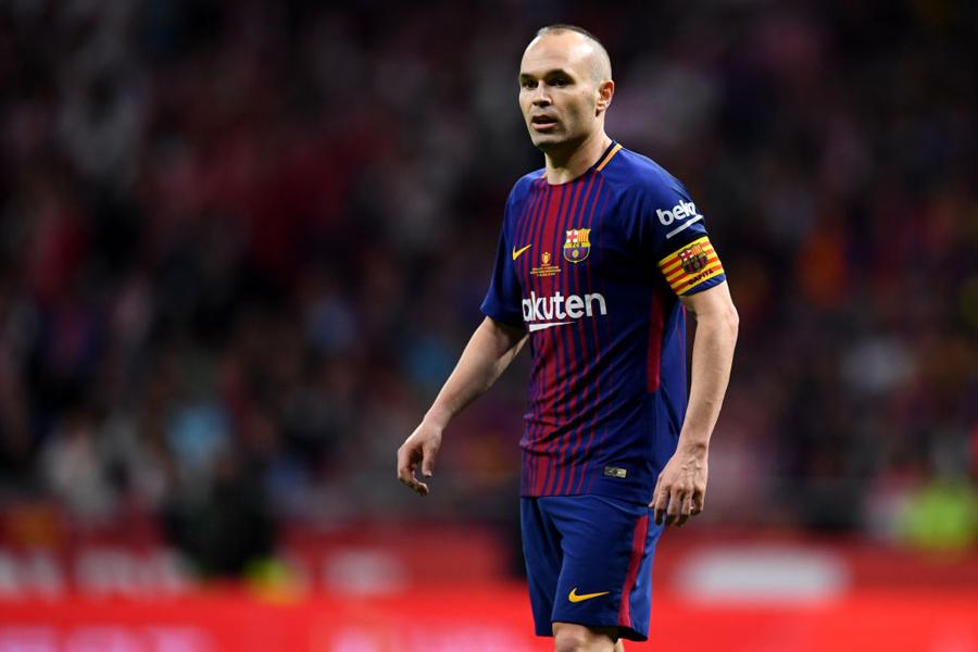 今季限りでバルセロナから退団するスペイン代表MFアンドレス・イニエスタに、J1ヴィッセル神戸移籍の可能性が急浮上した【写真:Getty Images】