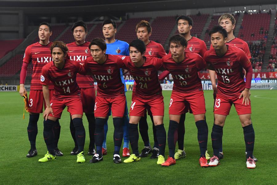 鹿島は、ACL上海上港戦にGK以外すべて日本人選手で臨む(写真は4月17日の水原三星戦)【写真:Getty Images】